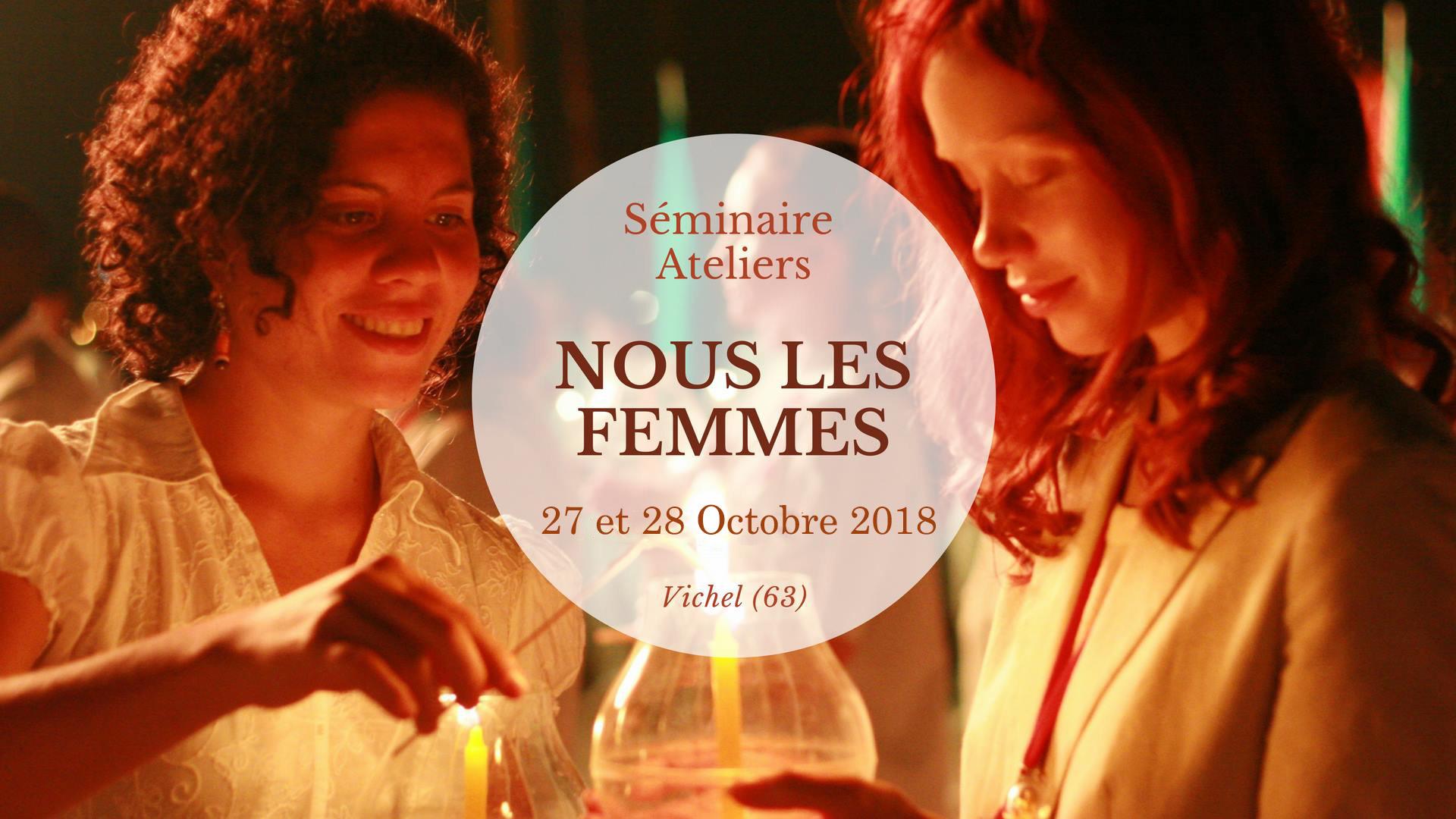 Photo Séminaire Nous Les Femmes 2